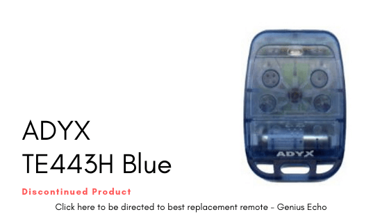 ADYX TE443H Blue Remote