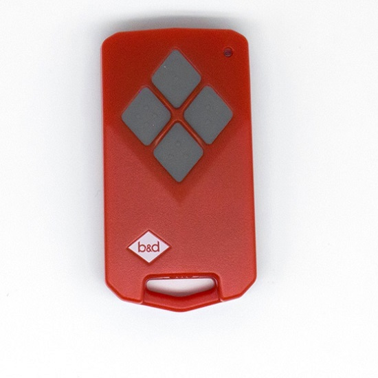 B&D TB5 Red remote with Grey Button