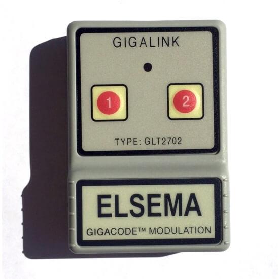 Elsema Gigalink 27.145Mhz 2 Button Remote GLT2702