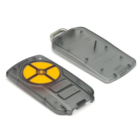 ATA PTX5 Orange Button Enclosure Case