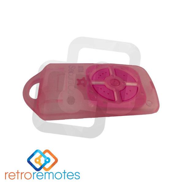 ATA PTX5 v1 Pink Case Front