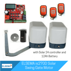 Elsema is270 Dual Swing Motor with Solar Kit