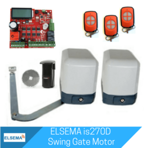 Elsema iS270 Dual Swing Gate Kit