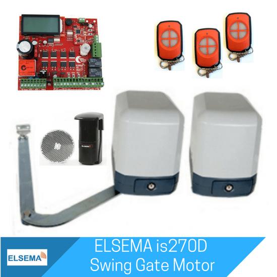 Elsema iS270 Dual Swing Gate Kit