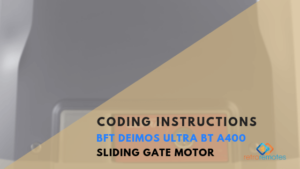 How to Install the BFT Deimos Ultra BT A400 Sliding Gate Kit