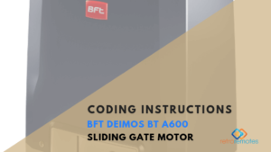 How to Install the BFT Deimos Ultra BT A600 Sliding Gate Kit