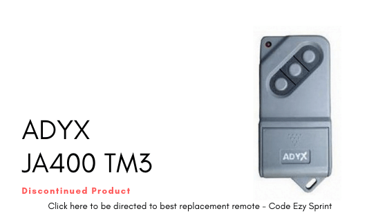 ADYX JA400 TM3 Remote