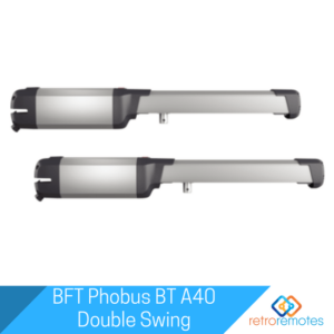 BFT Phobus BT A40 Double Swing Gate Kit