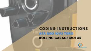 How to Install the ATA GDO 10v3 Toro Motor
