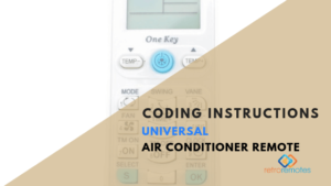 How to Code a Universal Airconditioner Remote