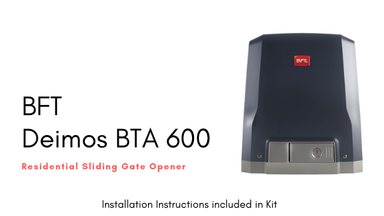 Installation Instruction BFT Deimos BT A600