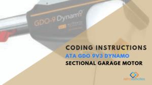 How to Install the ATA GDO 9v3 Dynamo Series 2 Opener