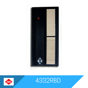 4332RBD remote