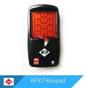 KPX7 Keypad by B&D Doors