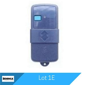 Lot 1E Remote