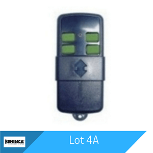 Lot 4A Remote