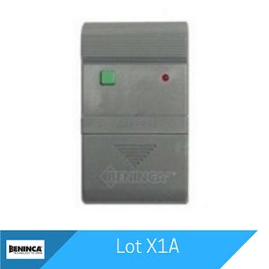 Lot X1A Remote