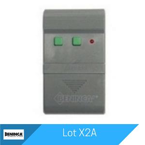 Lot X2A Remote