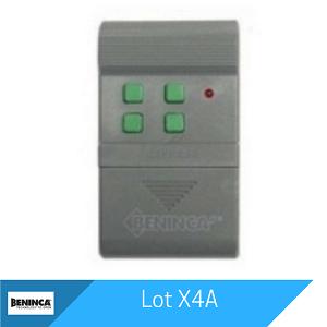 Lot X4A Remote