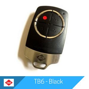 TB6 Remote - Black by B&D Doors