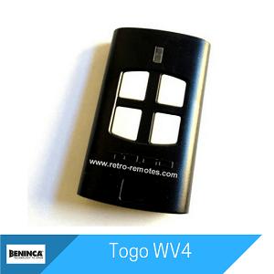 Togo WV4 Remote
