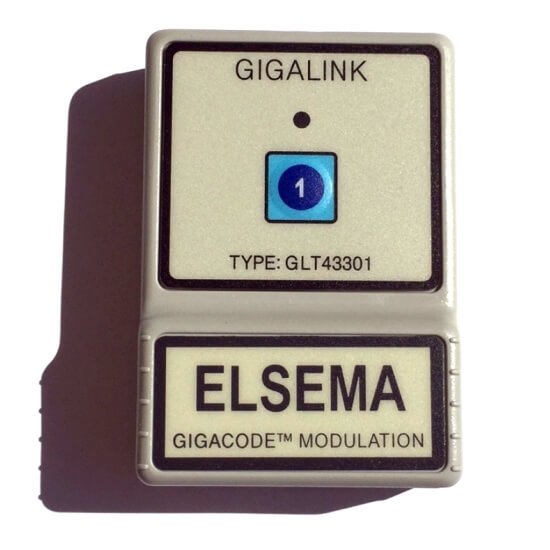 Elsema Gigalink 433.92Mhz 1 Button Remote - GLT43301