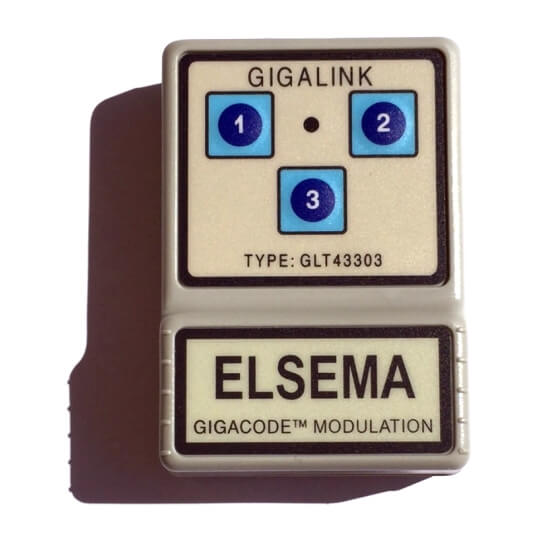 Elsema Gigalink 433.92Mhz 3 Button Remote - GLT43303