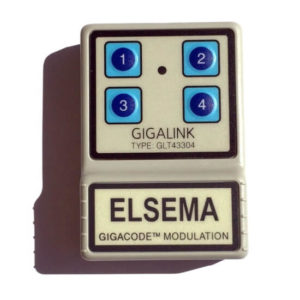 Elsema Gigalink 433.92Mhz 4 Button Remote - GLT43304
