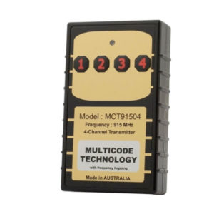 Elsema Multicode 915MHz 4 Button Remote MCT91504