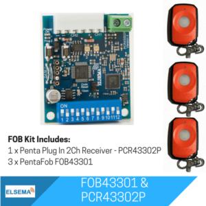 Elsema FOBKIT FOB43301 - 2ch Plug In Receiver