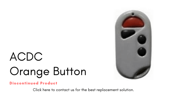 ACDC Orange Button Remote