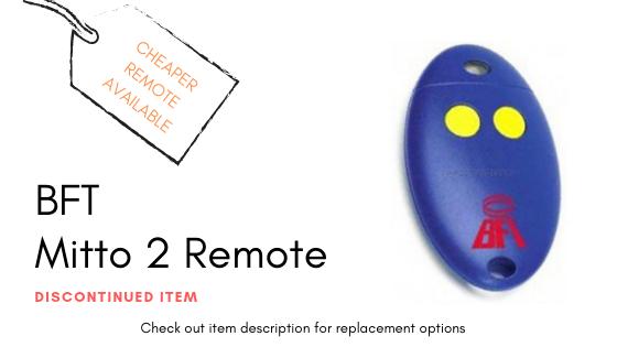 BFT Mitto 2 Blue Remote