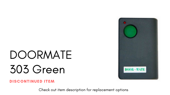 Doormate 303 Green Button
