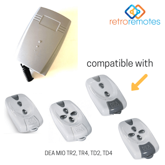 DEA Mio Remotes compatible with Lexo 400 Capacity Receiver