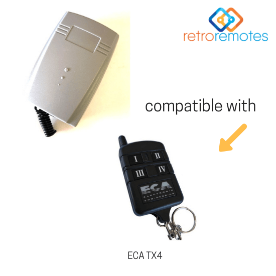 ECA TX4 compatible with the LEXO 400 Capacity Receiver