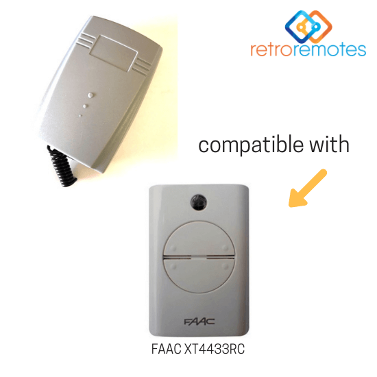 FAAC XT4433RC compatible with Lexo 400 Capacity Receiver