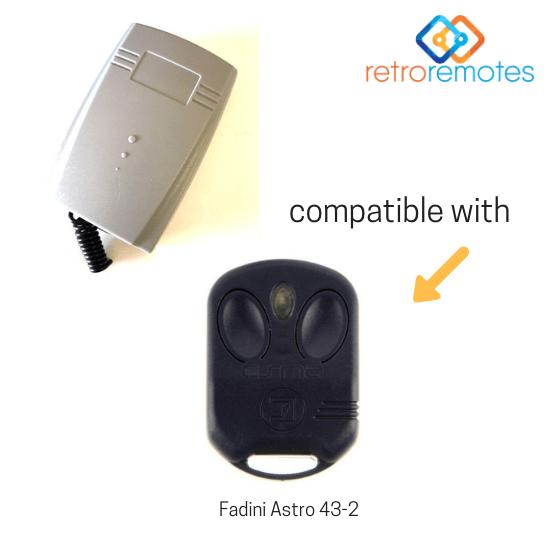 Fadini Astro 43-2 compatible with Lexo 400 Capacity Receiver