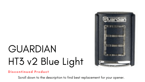 GUARDIAN HT3 v2 Blue Light Remote