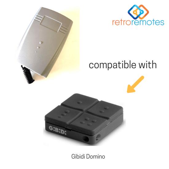 Gibidi Domino remote compatible with Lexo 400 Capacity Receiver