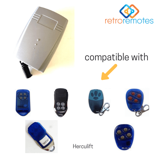 Herculift remotes compatible with Lexo 400 Capacity Receiver