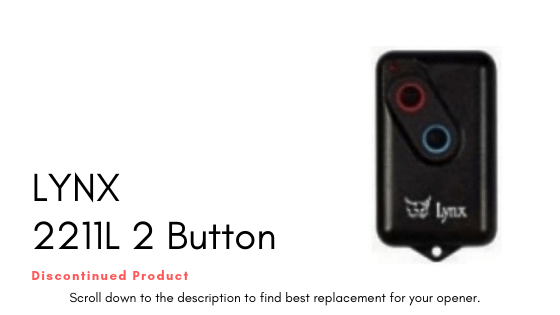 Lynx 2211L 2 Button