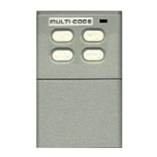 MULTI-CODE 4040 Remote