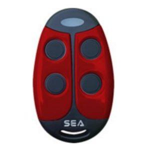 SEA Coccinella TX4 Red Remote