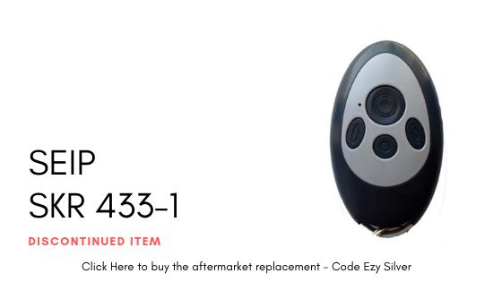 Seip SKR 433-1 Remote