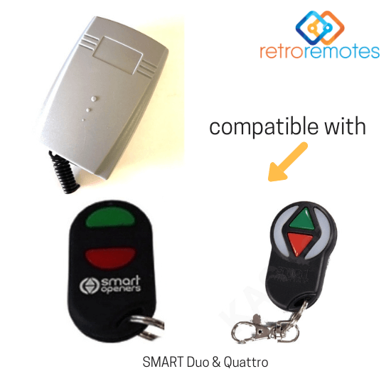 Smart Duo and Quattro remotes compatible with Lexo 400 Capacity Receiver