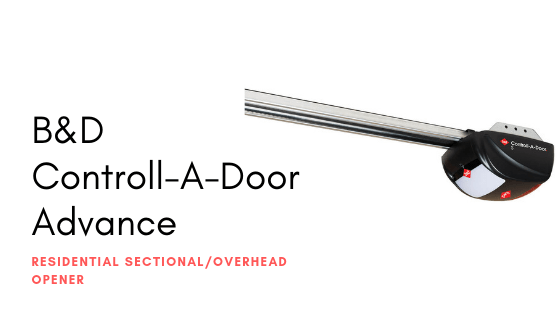 B&D Controll-A-Door Advance