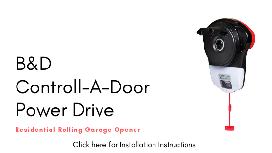 B&D Controll-A-Door PowerDrive