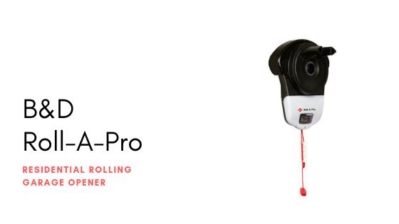 B&D Roll-A-Pro