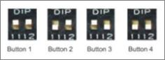 Dip Switches on a Multiple ATA Remote