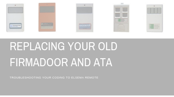 Replacing your old ATA Remotes